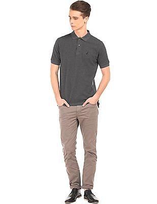 Nautica Solid Slim Fit Polo Shirt
