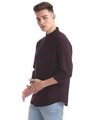 Aeropostale Regular Fit Checked Shirt