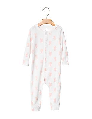 GAP Baby White Favourite Bear One Piece