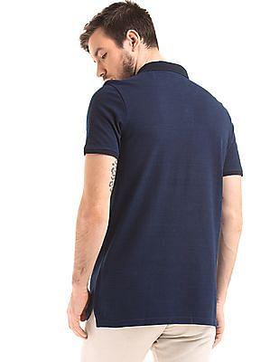 True Blue Slim fit Pique Polo Shirt