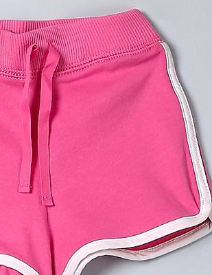 GAP Baby Pink Terry Dolphin Shorts
