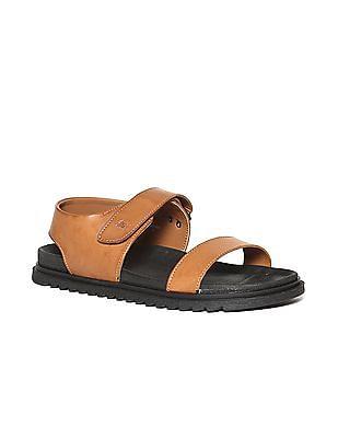 Arrow Ankle Strap Colour Block Sandals