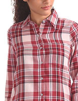 Aeropostale Long Sleeve Check Shirt