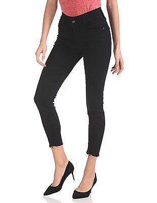 Flying Machine Women Twiggy Super Skinny Fit Dark Wash Jeans
