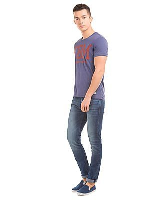 Flying Machine Stone Wash Skinny Jeans