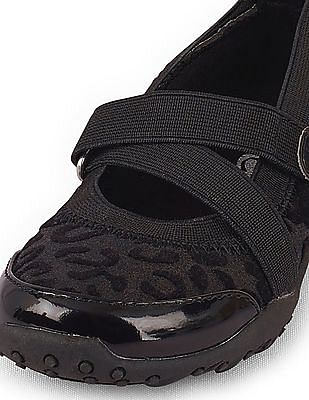 The Children's Place Toddler Girl Black Recess Trainer Sneakers
