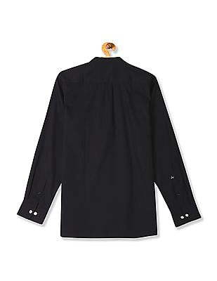 Arrow Mandarin Collar Autopress Shirt