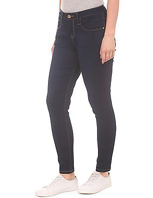 U.S. Polo Assn. Women High Rise Skinny Fit Jeans