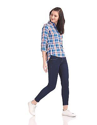 U.S. Polo Assn. Women Super Skinny Dark Wash Jeans