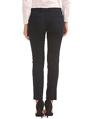 Arrow Woman Low Rise Slim Tapered Fit Trousers