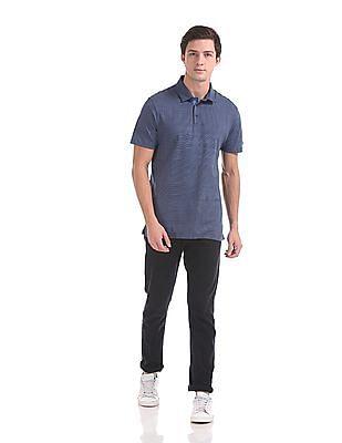 Arrow Newyork Short Sleeve Printed Polo Shirt