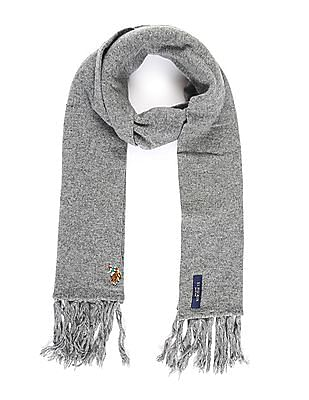 U.S. Polo Assn. Heathered Wool Blend Muffler