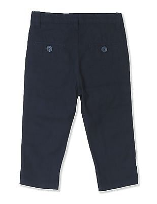 Donuts Boys Solid Flat Front Trousers