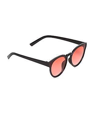 SUGR Round Frame Gradient Sunglasses