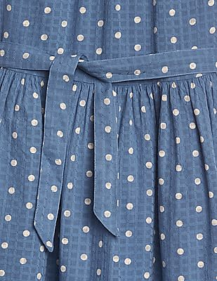 GAP Girls Dot Tie-Belt Waist