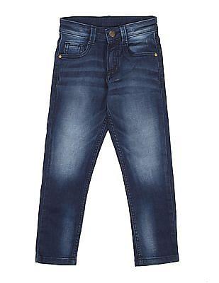 FM Boys Boys Whiskered Skinny Jeans