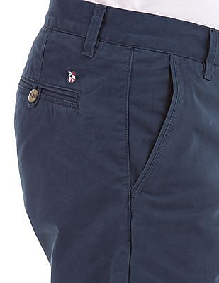 U.S. Polo Assn. Flat Front Slim Fit Shorts