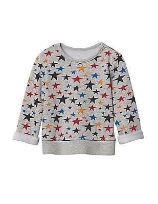 GAP Baby Cozy Bright Stars Top