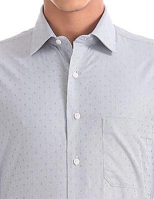 Arrow Regular Fit Houndstooth Shirt