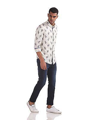 U.S. Polo Assn. Denim Co. Skinny Fit Dark Washed Jeans