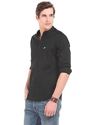 Ed Hardy Solid Slim Fit Shirt