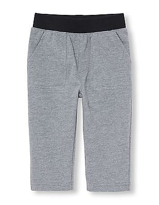 The Children's Place Toddler Boy Active Solid Fleece Utility Pants