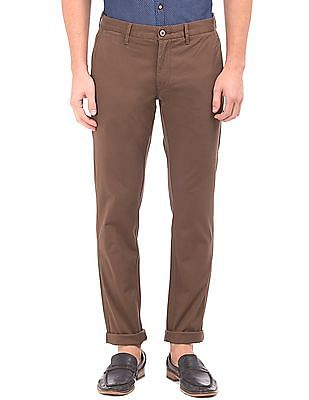 U.S. Polo Assn. Flat Front Trim Fit Trousers