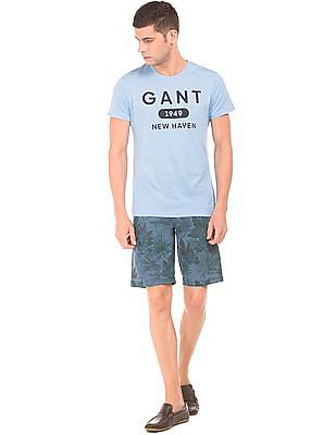 Gant Tropical Print Cotton Shorts