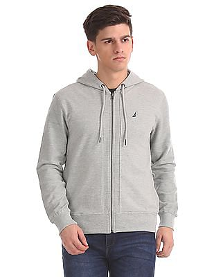 Nautica Long Sleeve French Terry Hoodie