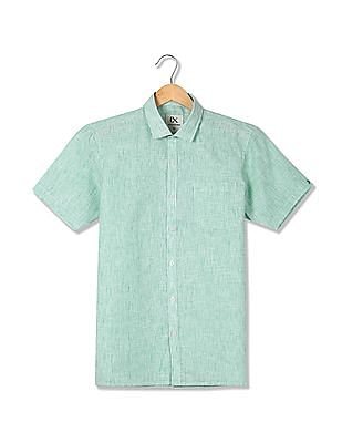 Excalibur Short Sleeves Patterned Shirt