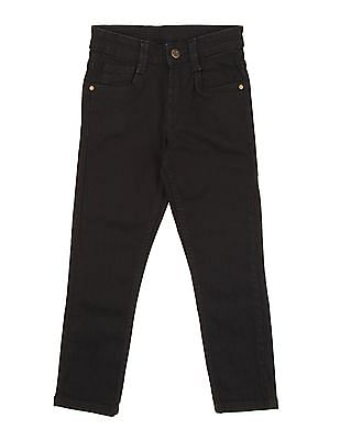 FM Boys Boys Solid Skinny Fit Jeans