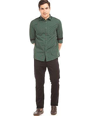 Ruggers Checked Contemporary Fit Shirt