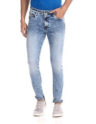 Aeropostale Super Skinny Fit Faded Jeans