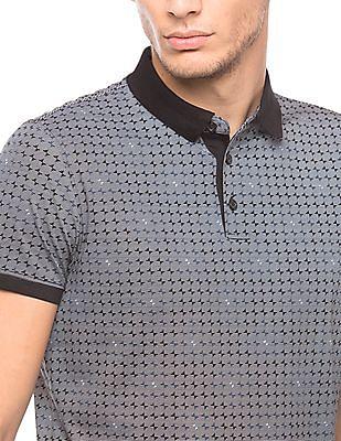 Arrow Newyork Regular Fit Printed Polo Shirt