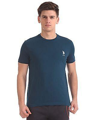 USPA Innerwear Regular Fit Solid T-Shirt