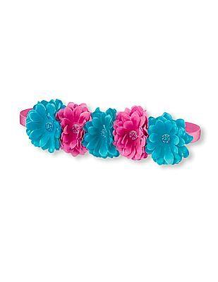 The Children's Place Girls Flower Headwrap
