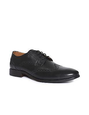 Arrow Wingtip Derby Shoes