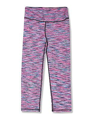 Aeropostale Printed Active Cropped Leggings