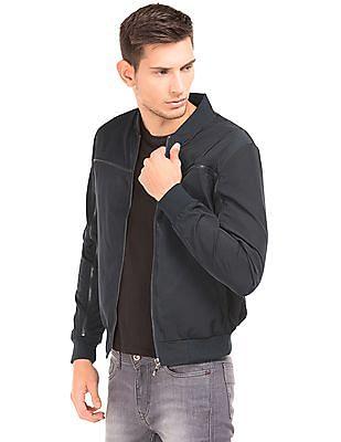 513d72345 Buy Men Slim Fit Bomber Jacket online at NNNOW.com