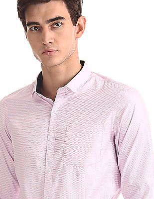 Excalibur Cutaway Collar Long Sleeve Shirt