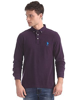 U.S. Polo Assn. Regular Fit Long Sleeve Polo Shirt