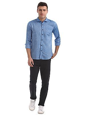 Roots by Ruggers Slim Fit Two Tone Shirt