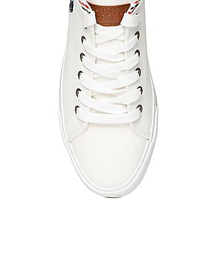 U.S. Polo Assn. Round Toe Canvas Sneakers