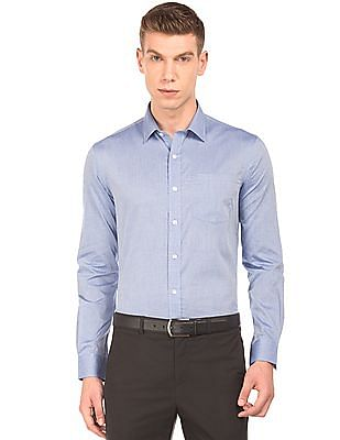 Arrow Slim Fit Solid Shirt