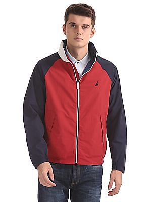 Nautica Classic Fit Appliqued Reversible Jacket
