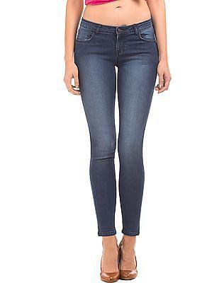 Cherokee Medium Wash Skinny Fit Jeans