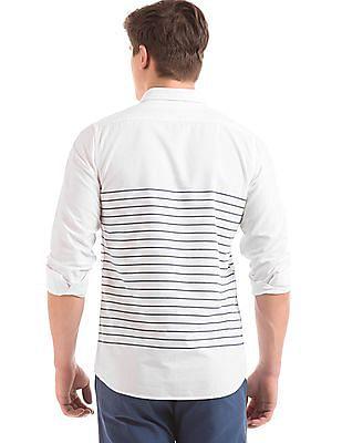 Geoffrey Beene Striped Slim Fit Shirt