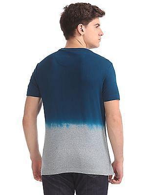 U.S. Polo Assn. Denim Co. Muscle Fit Dip Dye T-Shirt