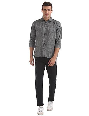 Roots by Ruggers Slim Fit Heathered Shirt