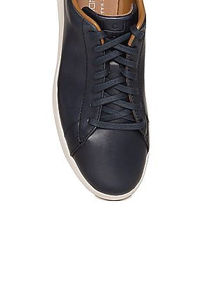 Cole Haan Contrast Sole Lace Up Sneakers